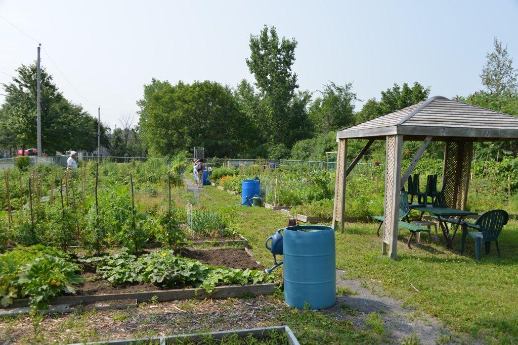 Faire un terrain de basket dans son jardin classique - Mobil home dans son jardin ...